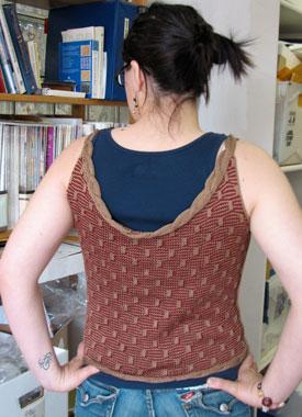 Knitting Gallery - Roped Shell Stefanie
