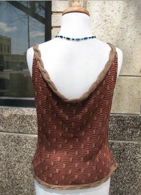 Knitting Gallery - Roped Shell Bertha