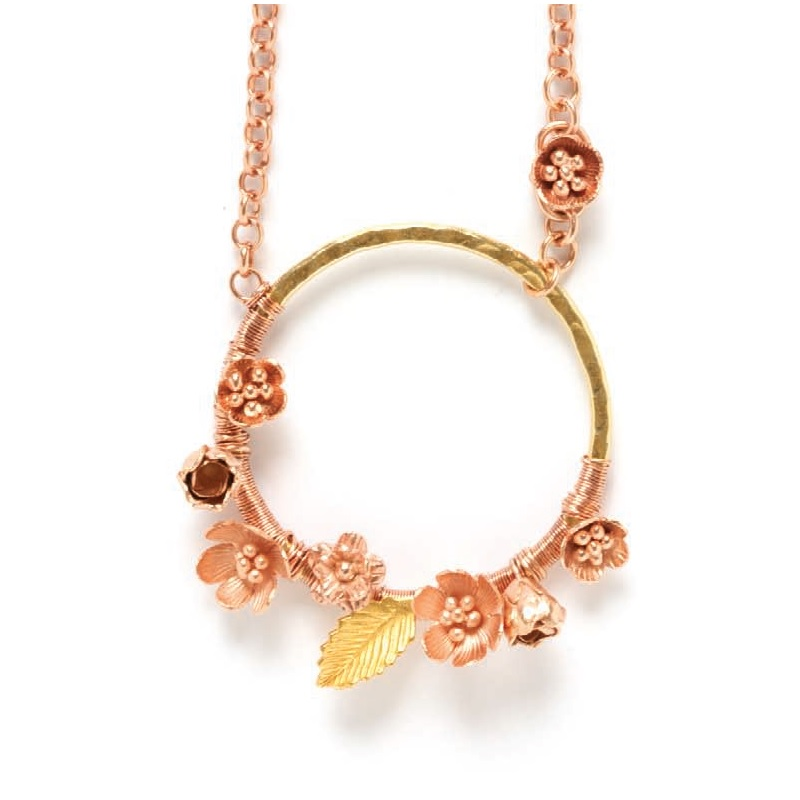 Jewelry making projects techniques videos tips more interweave free project rose gold jewelry mozeypictures Image collections