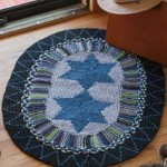 Donna Druchunas's Star Rag Rug to Knit.