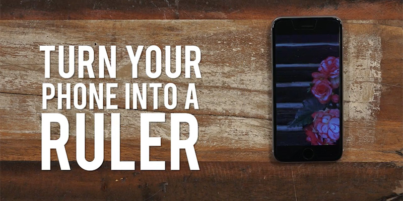 Yarn Hack: Your Phone is a Ruler!