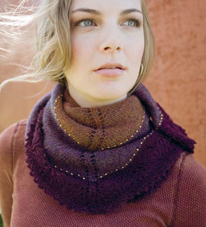 Northampton Neckerchief by Cirilia Rose,  from Simply Modern Lace