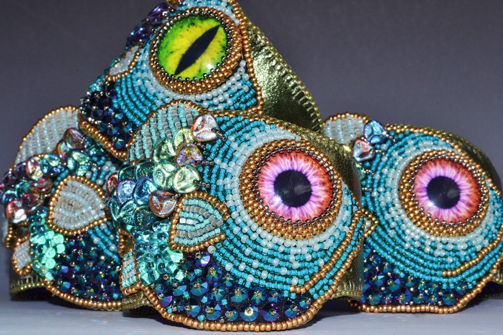 Bead embroidery with kinga nichols sherry serafini and