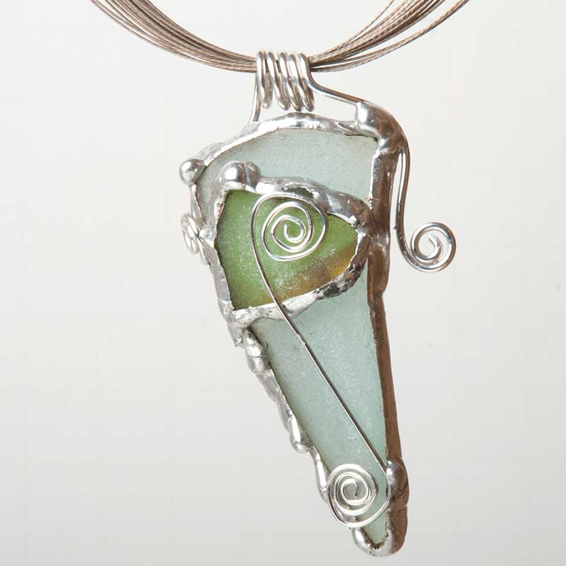 Jewelry Designs Made Using Soft Soldering Techniques, China, Glass ...