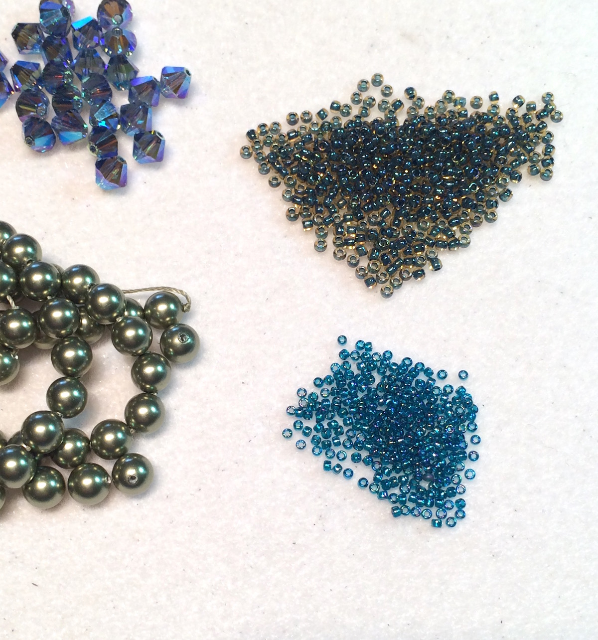 seed beads - check!