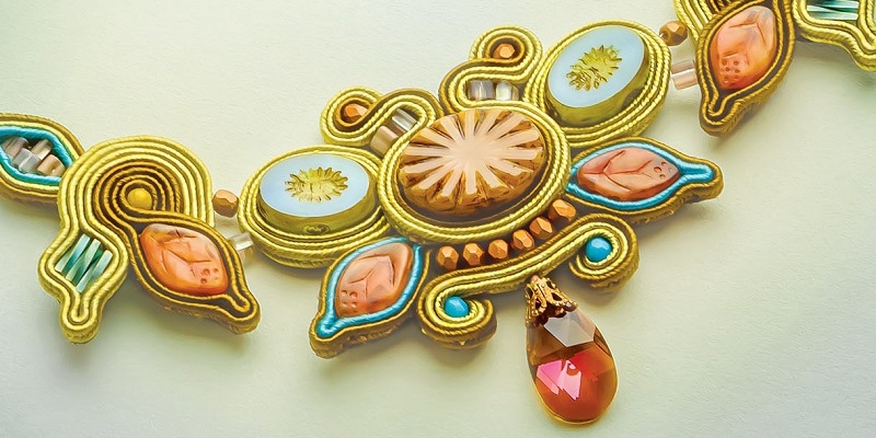 Fabric Bezels? Bezels Without Metal? Introducing Soutache Jewelry Making