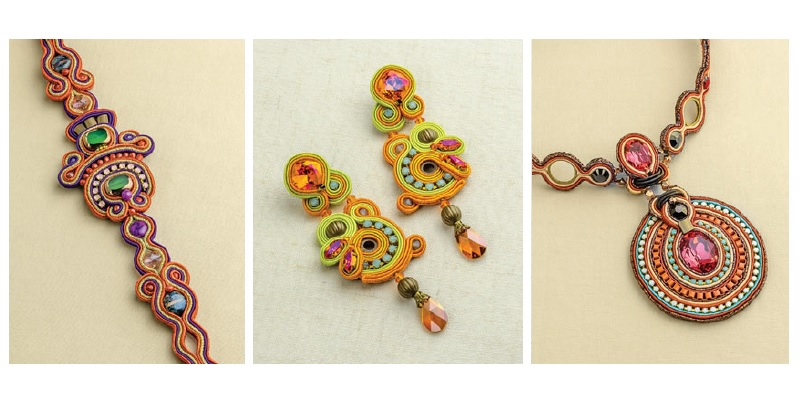 Beat the Heat: How to Make Lightweight, Colorful, Affordable Soutache Jewelry for Summer