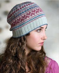 Setesdal Love hat knitting pattern