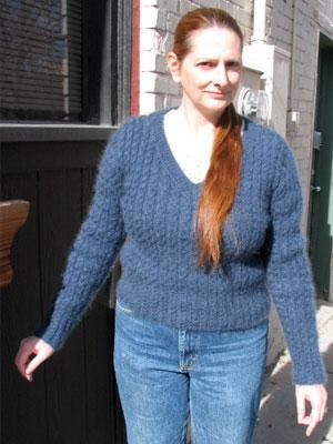 Kat Sweater Girl