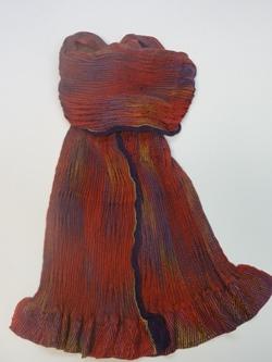 shibori-scarf-weaving
