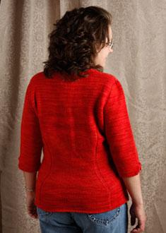 Knitting Gallery - Sidelines Top  Debbie