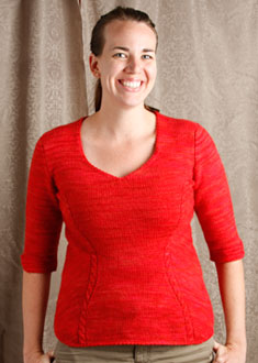 Knitting Gallery - Sidelines Top  erin