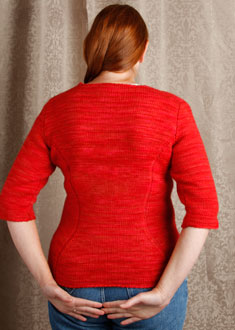 Knitting Gallery - Sidelines Top  Kat