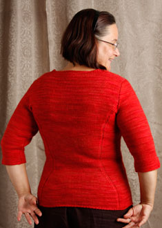Knitting Gallery - Sidelines Top  Sandi