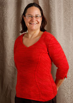 Knitting Gallery - Sidelines Top  Sanid