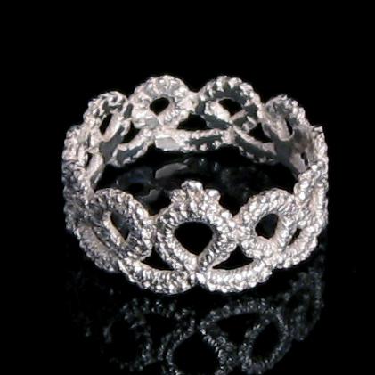 signature jewelry style:: Ring by Lorraine Kolasa