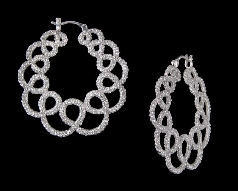 signature jewelry style:: Small Hoops by Lorraine Kolasa.
