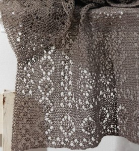 Learn how to knit this lighter-than-air Silken Fog Stole!