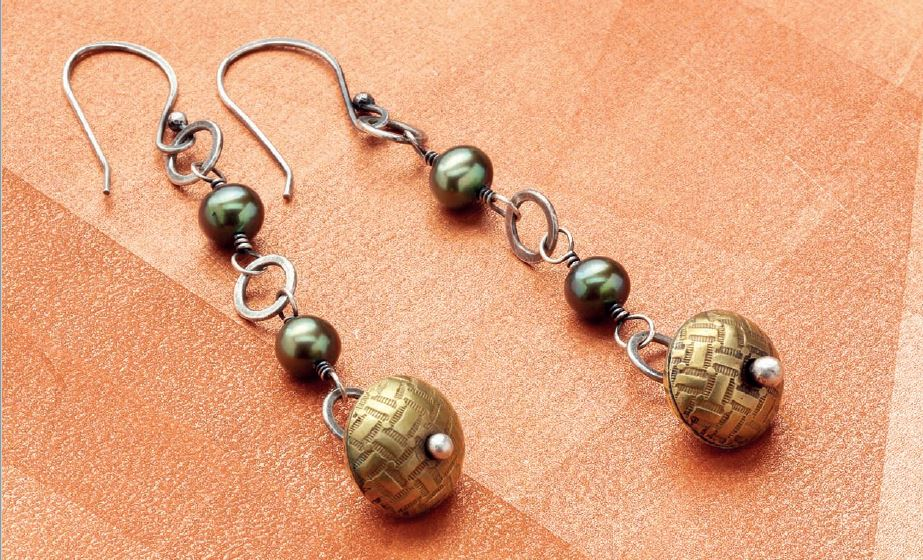 from Simple Soldering by Kate Richbourg: dangle earrings