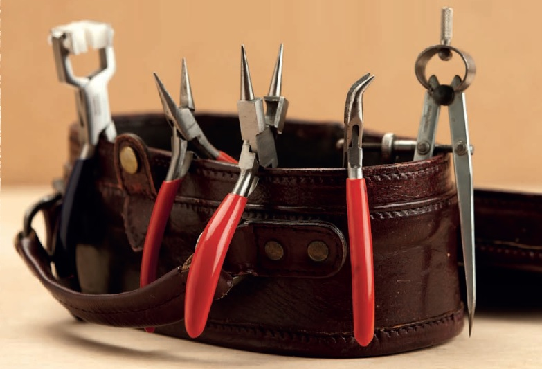 from Simple Soldering by Kate Richbourg: studio jewelry tools