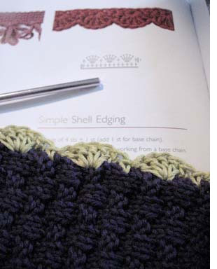 Simple Shell Edging