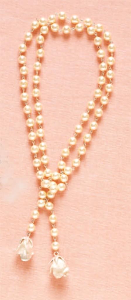 """Simply Romantic,"" necklace by Carol Horan Reesha, a romantic, sweet choker design"