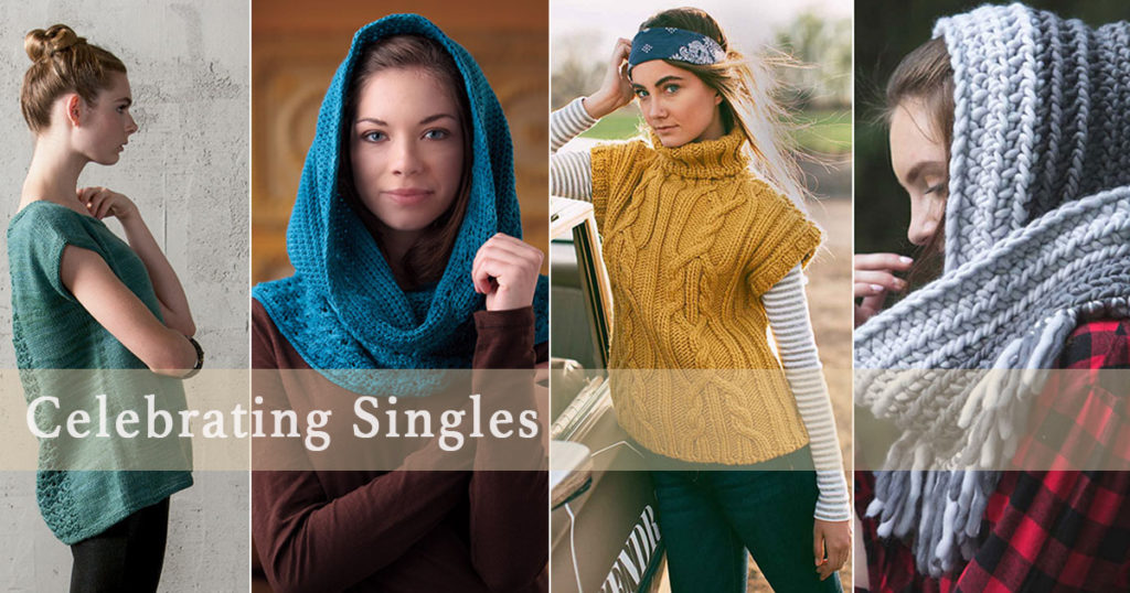 Happy Singles Awareness Day! 10 Favorite Single-Ply Yarns