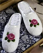 Travel Slippers to Needlepoint and Embroider
