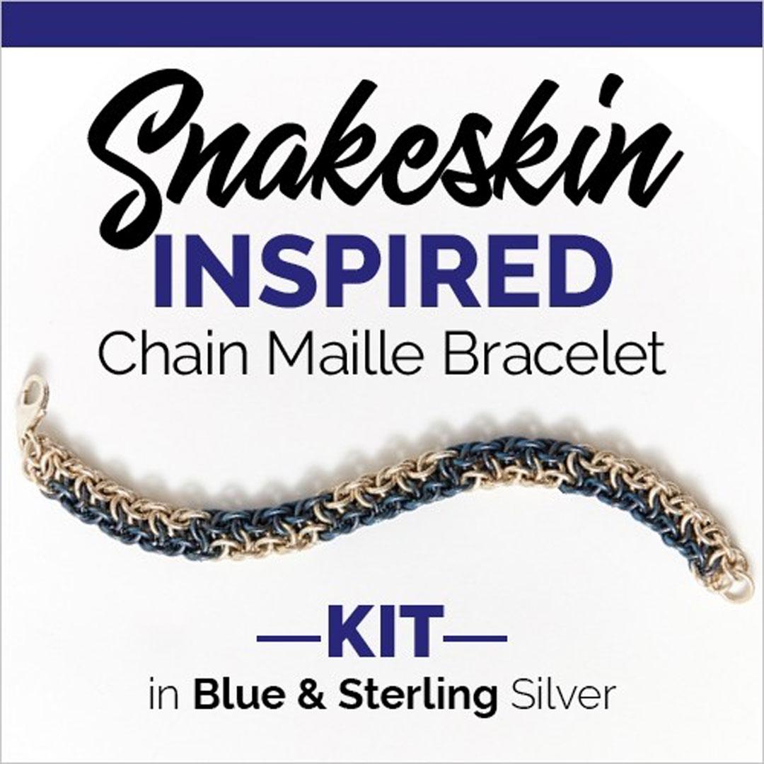 snakeskin chain maille kit