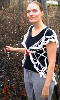 Snowflake, worn long