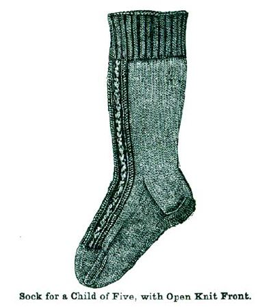 Learn how to knit socks, the Victorian way!