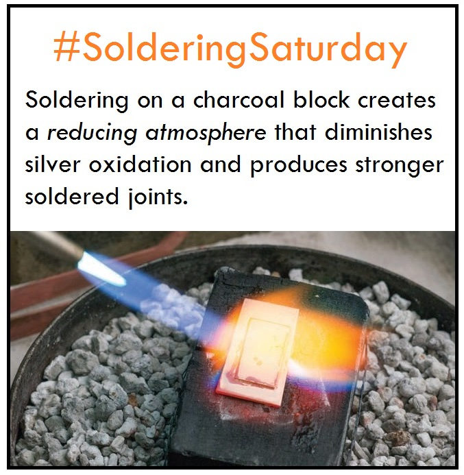 soldering saturday solder tip of the week: use a charcoal block