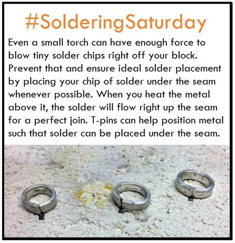 Soldering Tip for Keeping Solder in Place While You Fire Away