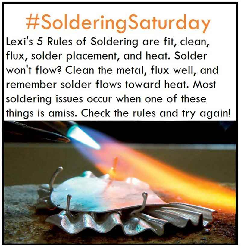 How to Solder with Lexi's 5 Rules of Soldering
