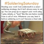 Ideas for Supporting Your Work While Soldering