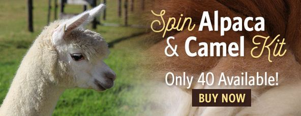 spin alpaca and camel kit ad