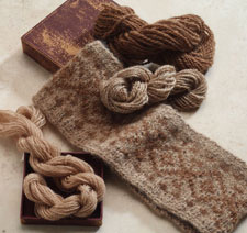 Learn how to spin Suri alpaca wool in this free ebook on spinning alpaca fiber.