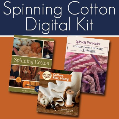 how to spin cotton and flax