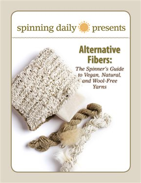 Learn expert tips about preparing and spinning with natural fibers and alternative fibers in this FREE spinning eBook from Interweave.