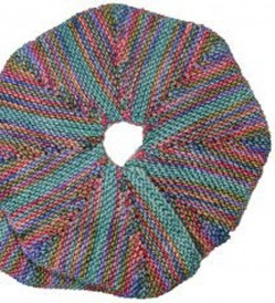 The Spiral Scarf is a knitted scarf pattern found in our free Knitting Scarves for all Seasons eBook.