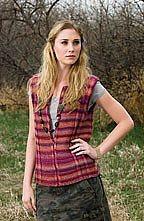 Strata Vest Knitting Pattern