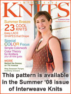 Interweave Knits Summer 2008