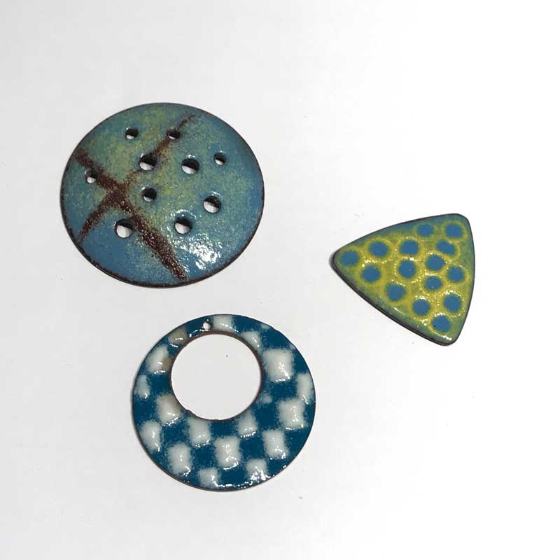 enameling surface treatments