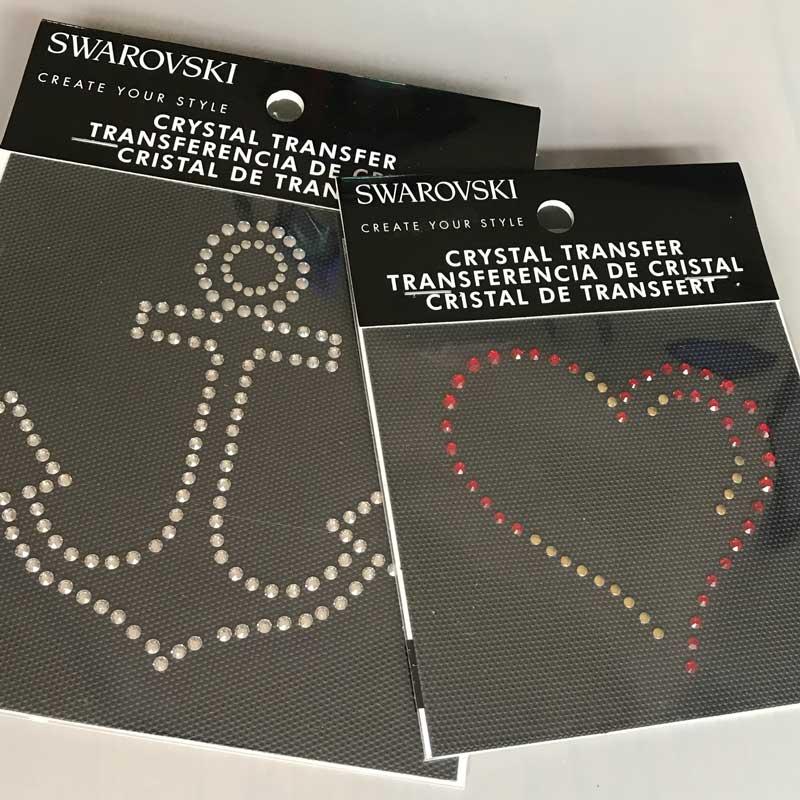 How to use Swarovski Crystal Transfers