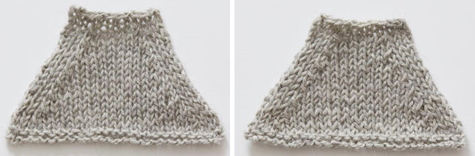 Learn the difference between two popular kinds of knitting decreases here.
