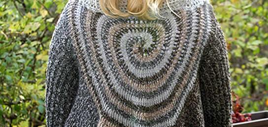 Swirl Sweater Wrap