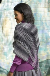 The Sycamore Poncho is a lightweight poncho crochet pattern that can be worn in several different ways.