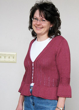 Knitting Gallery - Sylph Cardigan Debbie