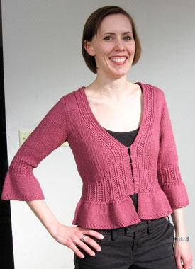 Knitting Gallery - Sylph Cardigan Laura