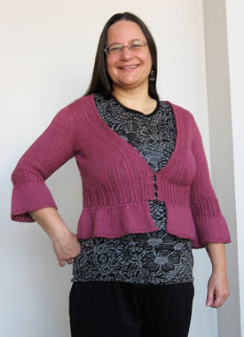 Knitting Gallery - Sylph Cardigan Sandi